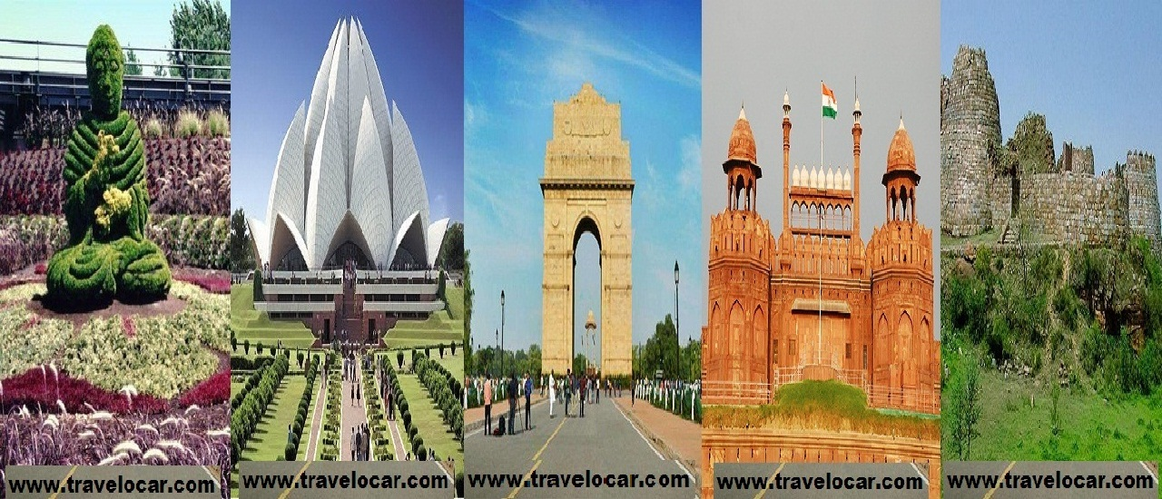 Places to Visit in Delhi With The Convenience of Car Rental Services!